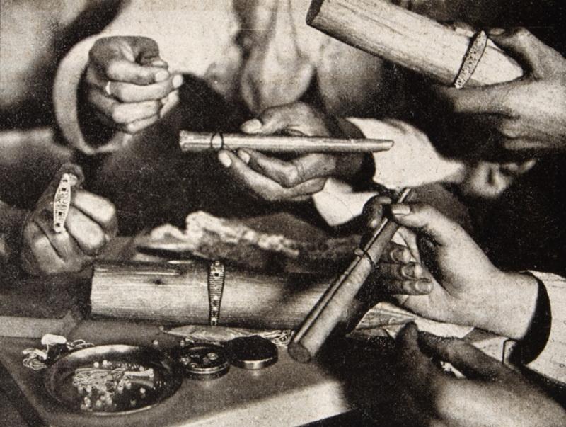 Detail způsobu pletení. FOTO: Český svět
