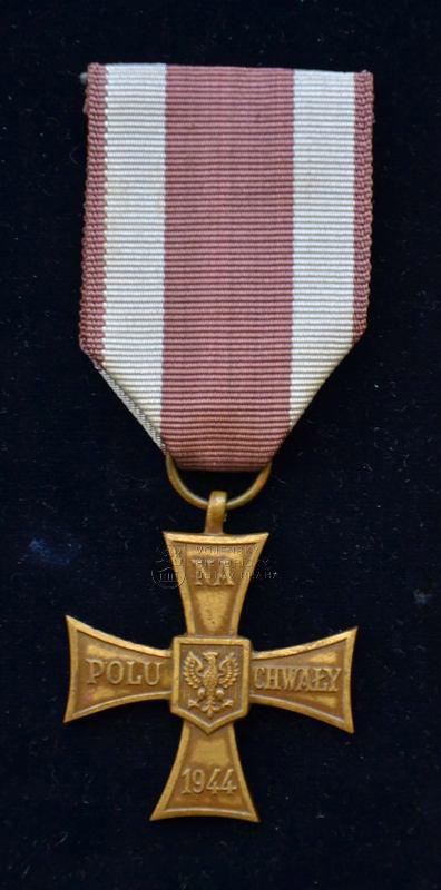 Polský Kříž za chrabrost (1944)