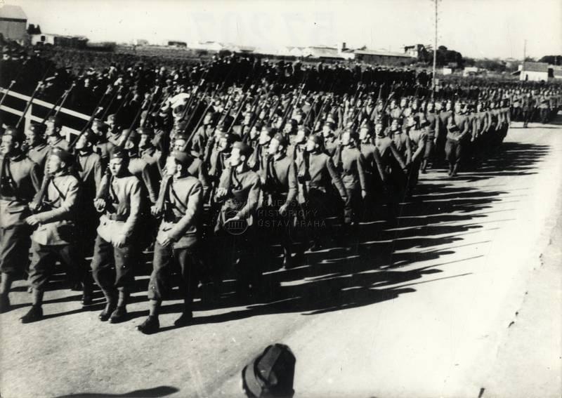 Čs. exilová armáda v Agde