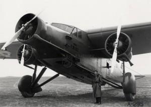 Bombardér Avia F-39 v jugoslávských službách. Foto sbírka VHÚ.