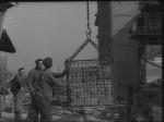 Stavba hotelu Družba (Armádní zpravodaj č. 1/1955)