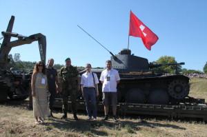 Do Švýcarska exportovaný předválečný tank LTH - první veřejné představení v České republice