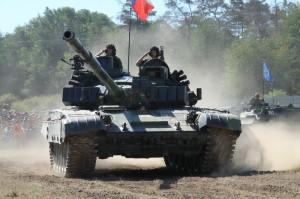 Zahájení Tankového dne - T-72M4CZ