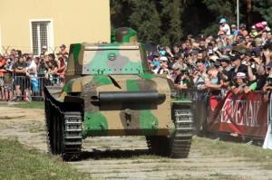V ČSR vyrobený exportní tank LTP - Peru