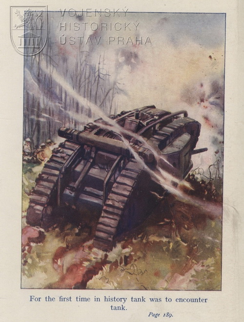 MITCHELL, Francis. Tank warfare: the story of the tanks in the Great War.