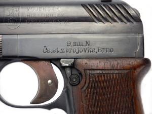 Čs. armádní pistole vz. 22, 1. provedení