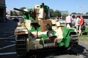 Vernisáž výstavy - tank LT-38 ze sbírek VHÚ