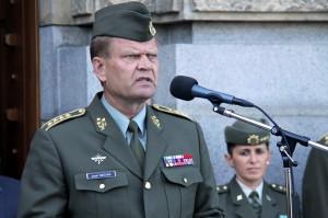 Náčelník Generálního štábu AČR, armádní generál Josef Bečvář