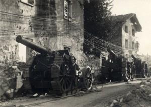 Italské kanóny 149G ráže 149,1 mm