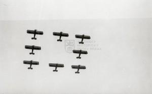 Letouny Avia Ba-122 čs. letectva v akrobatické sestavě