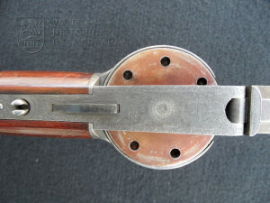 Puška s perkusním zámkem – opakovačka s kruhovým zásobníkem, Londýn, 1842