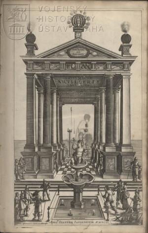 Artis magnae artilleriae – rytý titulní list.