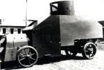 Obrněný automobil Praga R pro export do Osmanské říše