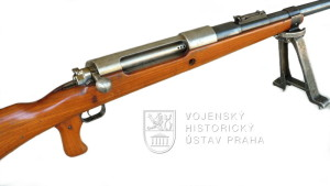 Německá protitanková puška Tankgewehr M 1918 (T-Gewehr)