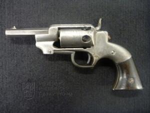 Americký revolver Allen & Wheelock kapesní (1858)