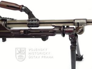 Bulharský lehký kulomet BREN – funkční řez