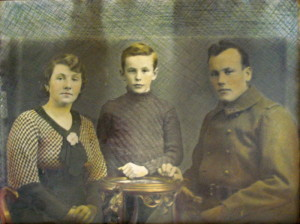 Rodinná fotografie Martina Müllera.