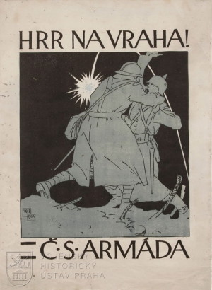 Hrr na vraha – Čs. armáda, 1918