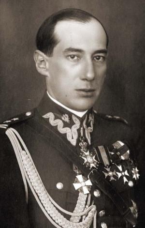 Józef Beck ještě v uniformě WP