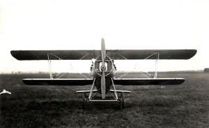 Jediný prototyp výškového průzkumného letounu Aero Ae-03 z počátku dvacátých let