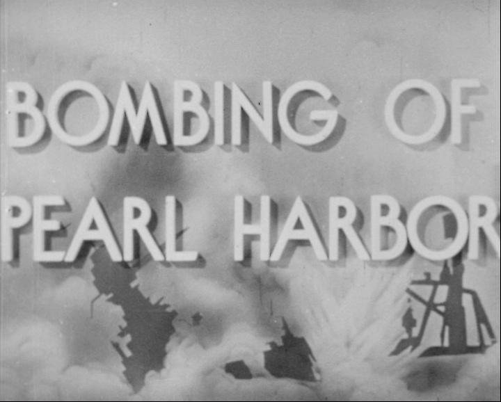 Útok na Pearl Harbor (The News Parade No. 128)