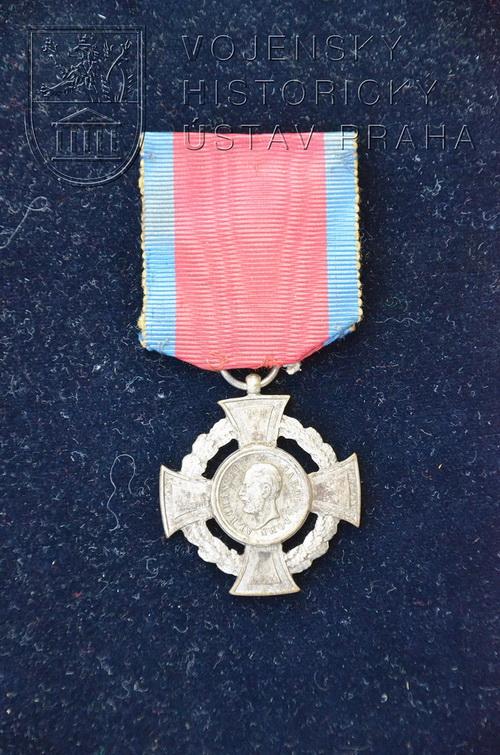 Rumunská Válečná medaile vojenské ctnosti, 2. stupeň