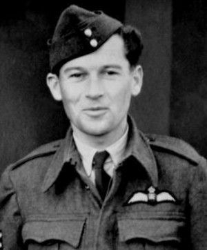 Imrich Gablech v uniformě Sergeanta RAF