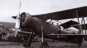 Letouny, s nimiž slovenští letci uletěli do Polska, ukořistili Němci na dobytém letišti Deblin. Na snímku jeden ze tří Letovů Š-328