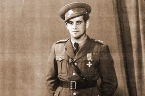Jehuda (Leopold) Parma jako nadporučík československé armády