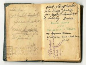 Kapesní diář pro rok 1942