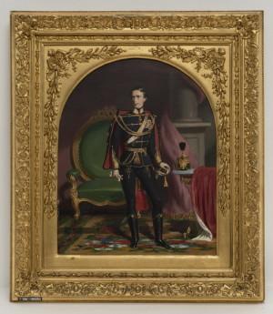 Portrét císaře Františka Josefa I. z roku 1848