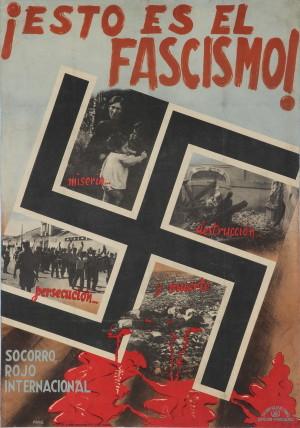 Toto je fašismus! 1936–1937, Bída, zkáza, pronásledování a smrt, Mezinárodní červený kříž. Tisk, litografie