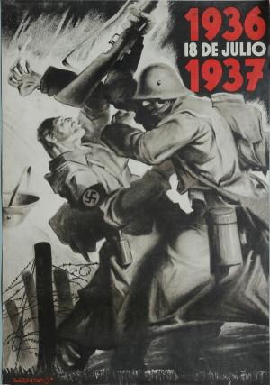 1936 18. července 1937. Tisk, litografie