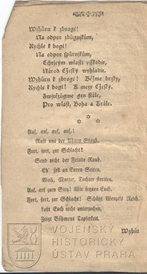 2. strana písně.