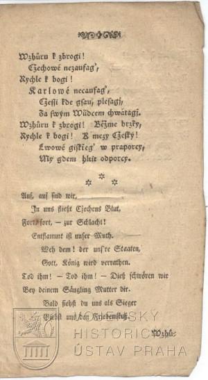 5. strana písně.