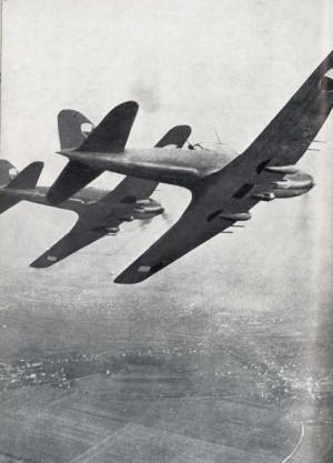 Bitevní letectvo bylo vyzbrojeno již zastaralými bitevníky Il-10.