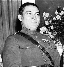 Kubánský diktátor Fulgencio Batista