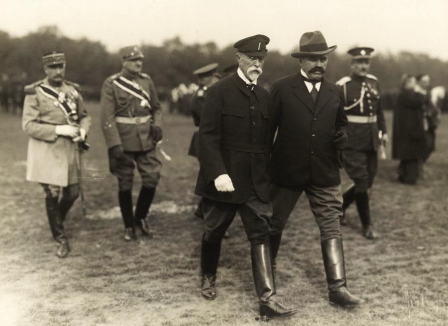 Ministr národní obrany František Udržal