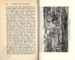 Ukázka textu a fotografie dobytých Düppelských šancí.
