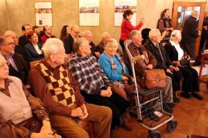 Pamětníci a ti, kteří v roce 1945 vězňům pomáhali