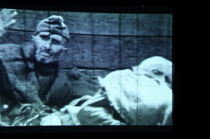 Ukázky z filmového materiálu, který byl v dubnu v Roztokách natočen