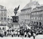 Slavnost u pomníku polního maršála Radeckého