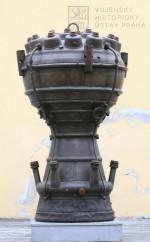 Spalovací komora rakety A-4