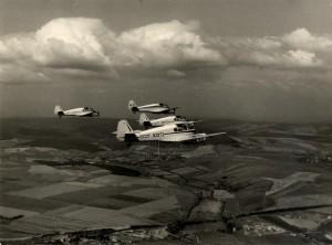 Čtveřice letounů Ae-145 československé výroby v sovětských službách