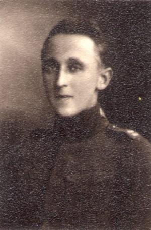 Miloslav Kraus na jediné známé fotografii z roku 1922