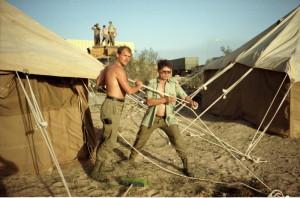 Československo vyslalo do Zálivu protichemickou jednotku. Foto sbírka VHÚ.