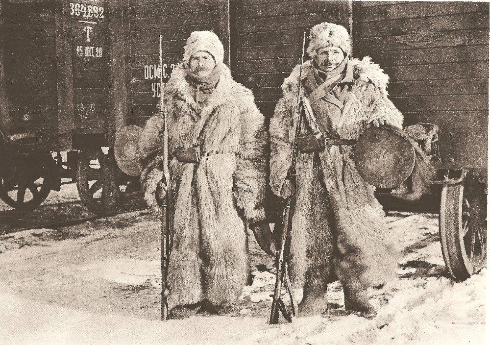 Zima 1920 – legionářská odysea