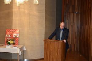 Profesor Michael Epkenhans při projevu. Foto Prokop Tomek