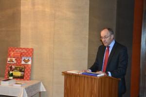 Představení knihy editorem dr. Oliverem Bange. Foto Prokop Tomek