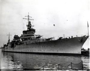 Americký těžký křižník Indianapolis, 9. červen 1933